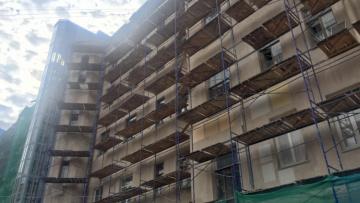 Жилищный комитет провел мониторинг работ по капитальному ремонту фасадов и крыш