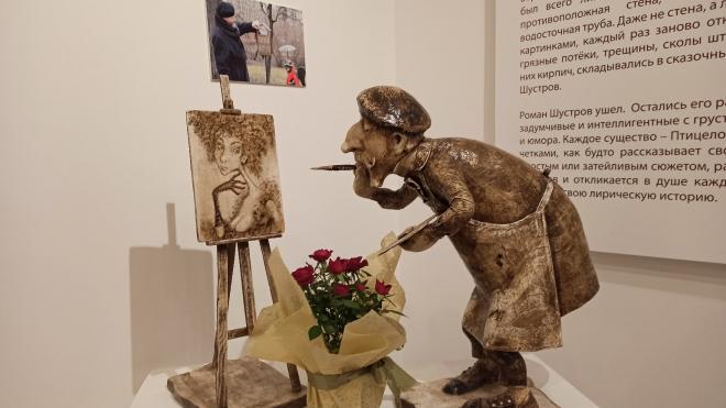 """Выставку работ скульптора """"Петербургского ангела"""" открыли в Северной столице"""