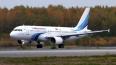 Самолет вернулся в Петербург из-за треснувшего стекла ...