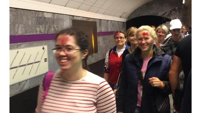 """В ходе учений станцию метро """"Спортивная"""" завалили трупами и ранеными"""