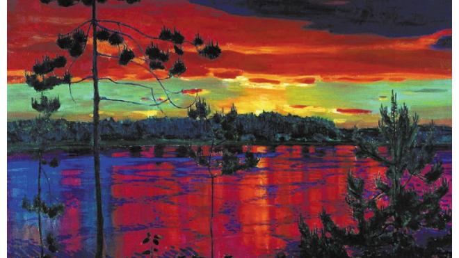 Выставка пейзажиста Аркадия Рылова в Михайловском замке