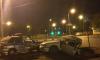 В Воронеже от удара иномарку разорвало и часть отлетела на машину ДПС