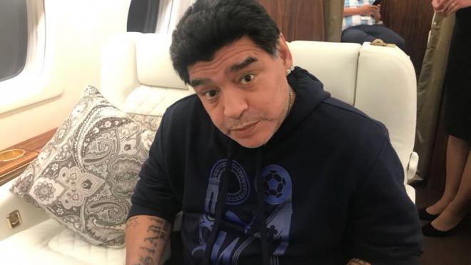 Марадона опроверг слухи об ухудшении здоровья и госпитализации