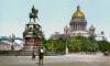 Криворукие крановщики оставили памятник Николаю I без кончика канделябра