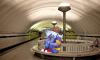 Художник из Петербурга населил городское метро сказочными существами