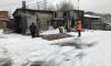 В Невском районе сносят незаконные постройки
