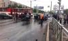На проспекте Просвещения иномарка протаранила трамвай: есть жертвы