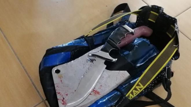 В Южно-Сахалинске неадекват напал с ножом и тесаком на сотрудников администрации
