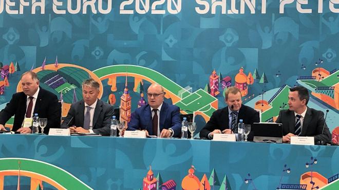 Делегация УЕФА прибыла в Петербург проверить готовность города к Евро-2020