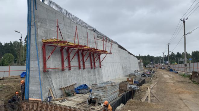 У станции Мельничный Ручей построят временную дорогу для безопасности водителей