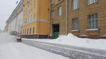 Петербургский снег убирали более 1160 единиц техники