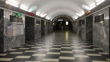"""На станции """"Чернышевская"""" заменят эскалаторы и отремонтируют вестибюль"""