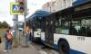 На проспекте Ветеранов столкнулись троллейбусы: есть пострадавшие