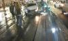 В центре города водитель белой иномарки врезался в трамвай