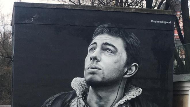 Граффити с Сергеем Бодровым могут закрасить