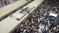 В Токио 360 тысяч человек застряли в поездах из-за ...