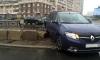 В Петербурге иномарка влетела в поземный переход на Савушкина