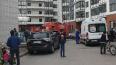 На Богатырском проспекте загорелась квартира на восьмом ...