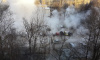 На Бухарестской улице прорвало трубу: автомобили затопило кипятком