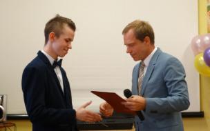 В Петербурге награжден мальчик-герой
