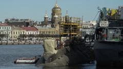 """Адмиралтейские верфи начали швартовные испытания подлодки """"Магадан"""""""