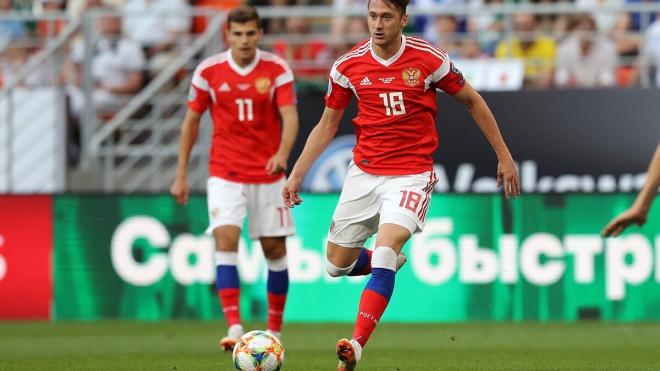 Сборная России поднялась с 46-го на 43-е место в рейтинге ФИФА
