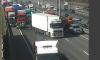 Один человек пострадал в ДТП с двумя грузовиками на КАД у Волхонского шоссе