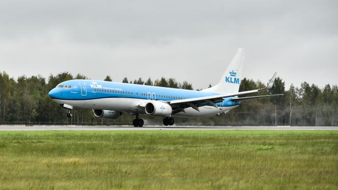 С 12 февраля возобновили рейсы из Петербурга в Амстердам