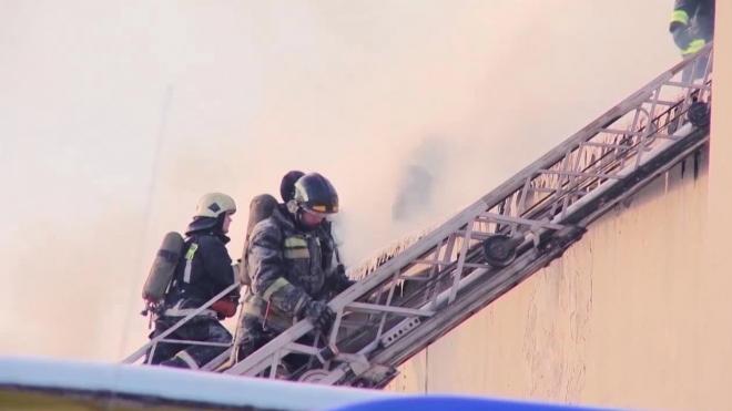 В Казани произошел пожар в крупном торговом центре