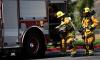 Пожарные потушили гараж в Красногвардейском районе