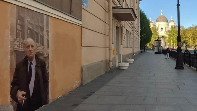 Петербург остается аутсайдером в вопросе граффити – автор фрески с Бродским