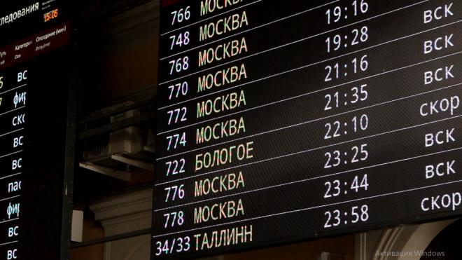 """Поезд """"Гранд Экспресс"""" вернется на маршрут между Петербургом и Москвой с 5 июня"""