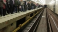 """Нетрезвый мужчина упал на рельсы станции метро """"Новочерк..."""