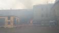 В Петербурге загорелось здание бывшего дома культуры ...