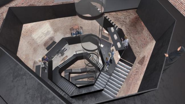 В башне св. Олафа Выборского замка появится панорамный лифт