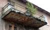 На набережной Мойки обрушился балкон вместе с человеком