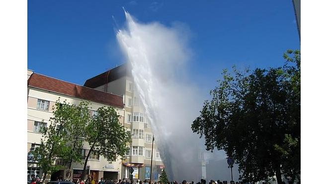 Техногенная авария в Выборгском районе