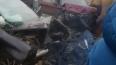 На Таллинском шоссе произошла жуткая авария: машины ...
