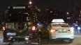 На Чернореченском мосту такси врезалось в джип
