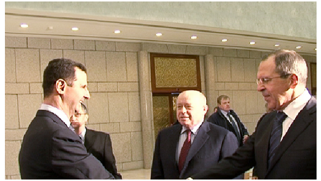 Сергей Лавров начал переговоры с Башаром Асадом в Дамаске