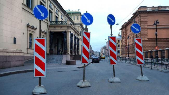 Во время майских праздников в Петербурге частично перекроют движение