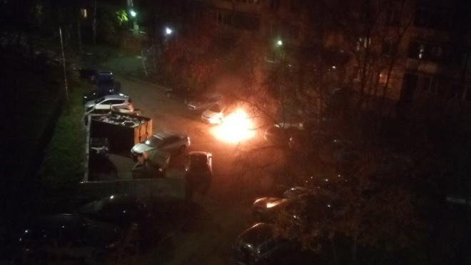 """На Ленской улице сгорела """"КИА Рио"""""""