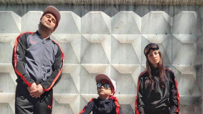 Александр Кержаков представил свою версию обложки альбома группы Beastie Boys