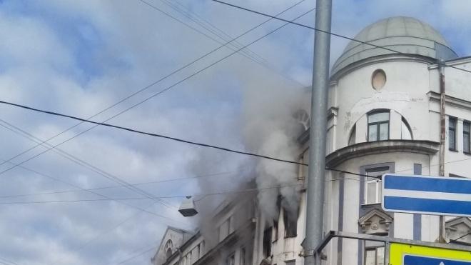 Утром на Васильевском острове горела коммуналка