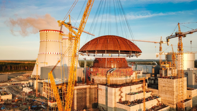 На строительной площадке Ленинградской АЭС-2 нашли теломонтажника