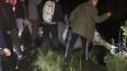 В Невском районе из болота вытаскивают автомобиль: ...