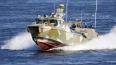 В Петербурге проводят испытания патрульного катера