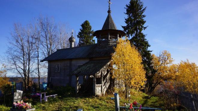 В Ленобласти проведут реставрацию старинной деревянной часовни в Подпорожском районе