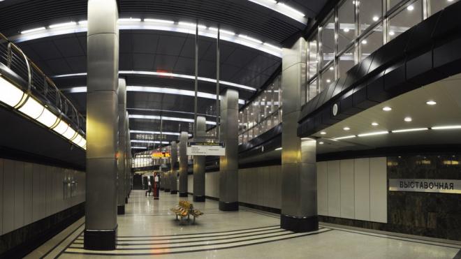"""На станции метро """"Выставочная"""" в Москве произошел пожар"""