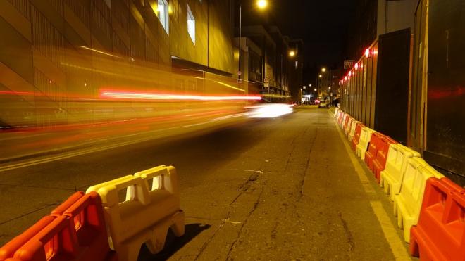 На КАД до середины октября закроют две полосы в районе Мурино